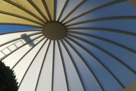 Rehabilitación de la cúpula de policarbonato