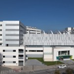 Edificio nuevos quirofanos Hospital de Navarra