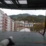 Impermeabilización plaza en Eibar con epdm