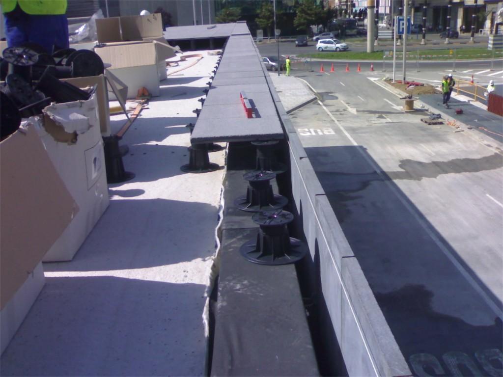 Proyectos de impermeabilizaci n y aislamiento de fachadas - Cubierta sobre plots ...